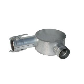 Ausblasekopf Ø150mm mit Guma