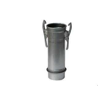 Rohr Ø150mm l=0,5m mit Guma